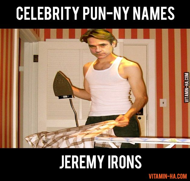funny celebrity puns | Published April 24, 2012 at 630 ...