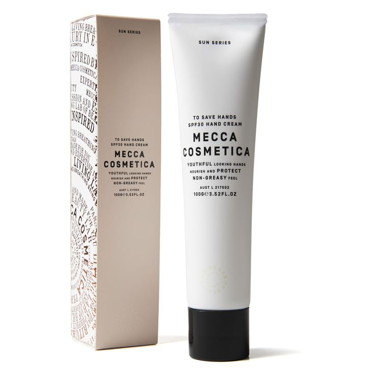 Mecca Cosmetica - To Save Hands SPF 30 100ml