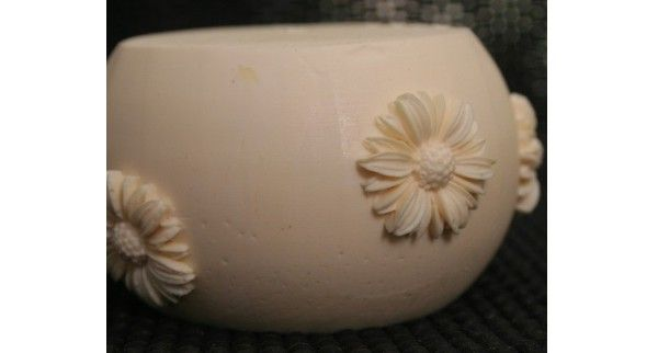 Daisies Fondant Candle Mold - Most designs are held in stock. Should you require a mold that is out of stock, we can pour a fresh one in less than 24 hours. If you require multiples of one design, we will tell you at the time of order the exact day your molds will be posted.