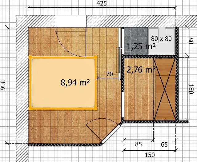 41+ Plan de chambre avec dressing et salle de bain ideas