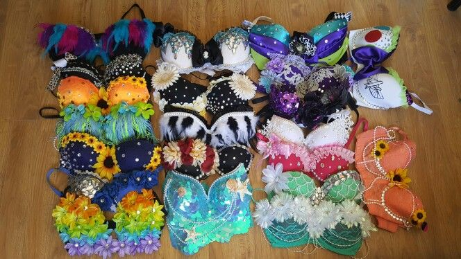 $15 and under handmade rave bras! www.PasseDesigns.com