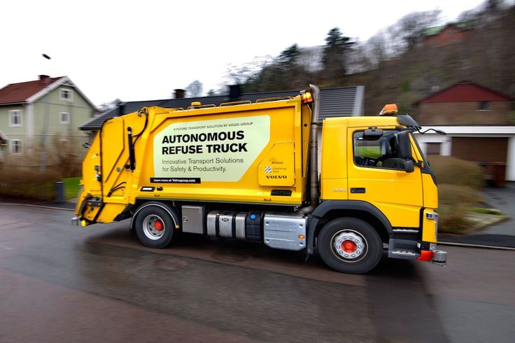 Volvo wants to automate your weekly garbage pickup