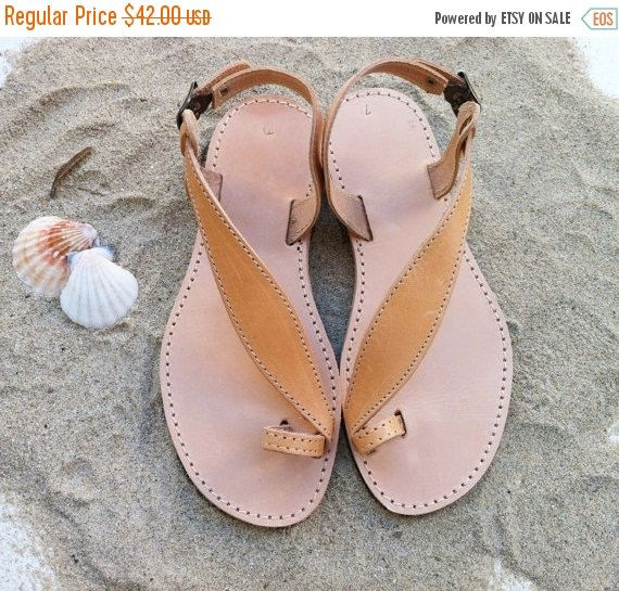 Black Friday Sale leather sandals handmade Greek by GrecianSandals