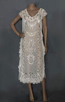 1920s Boue Soeurs dress