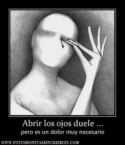 Abrir los ojos duele - http://www.fotosbonitaseincreibles.com/abrir-los-ojos-duele/