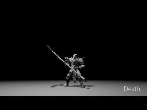 Game Animation Demo Reel 2016 - Martin Ivanov