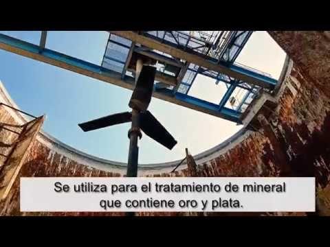 Planta de procesamiento y recuperación de mineral de oro y plata   5000 ...