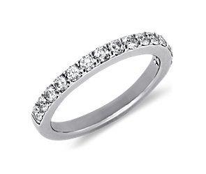 Pavé Diamond Ring in 14k White Gold (1/2 ct. tw.)