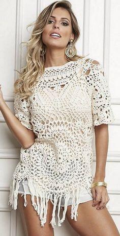 Ideas para el hogar: Modelos de túnicas con sus moldes