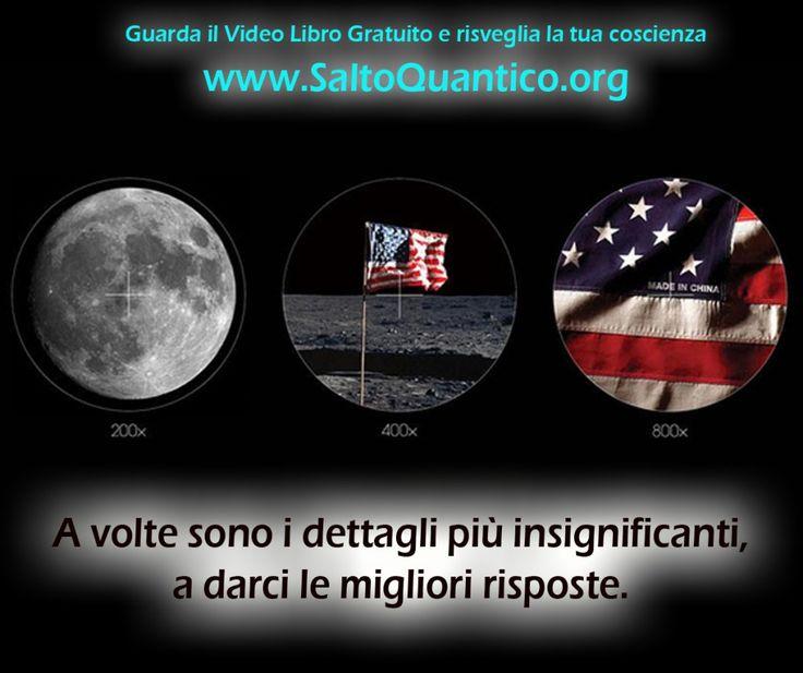 A volte sono i dettagli più insignificanti, a darci le migliori risposte.  www.SaltoQuantico.org