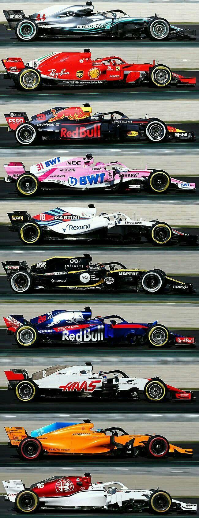 Formula 1 2018 Formula 1 Car Formula 1 Car Racing Formula Racing