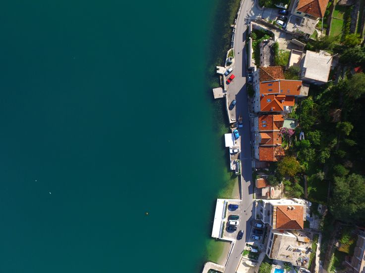 Looking down onto the stone apartments of Kotor, we flew the DJI Inspire 1 in Montenegro for ten days and took some incredible imagery.