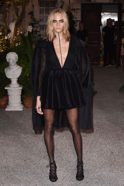 Amazing Cara ...London Fashion Week Front Row And Parties | British Vogue