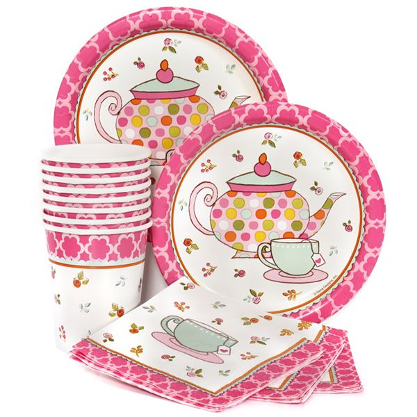 Tea Party Munch Pack for 8