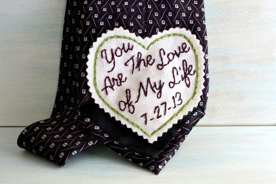 You Are the Love of My Life. Groom Gift. Hand von sewhappygirls