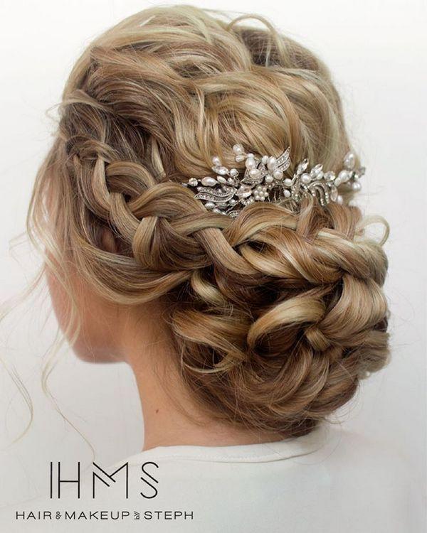 HMS Long Wedding Hairstyles 5 | Deer Pearl Flowers