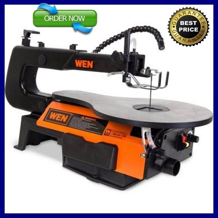 """WEN 3920 16"""" Two-Direction Variable Speed Scroll Saw with Flexible LED Light NEW #WENProducts"""
