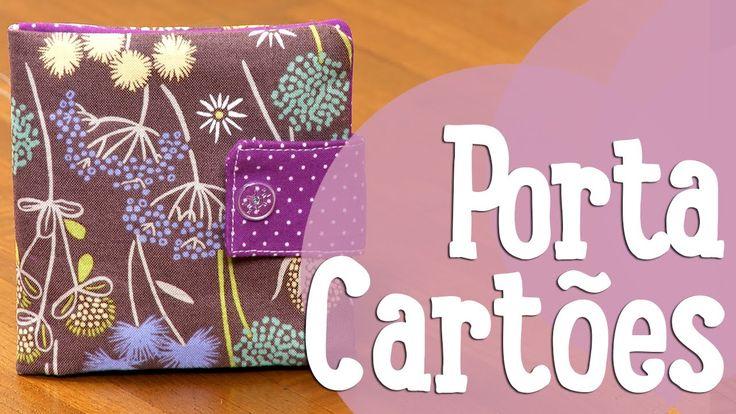 Porta-Cartões - Costura Comigo