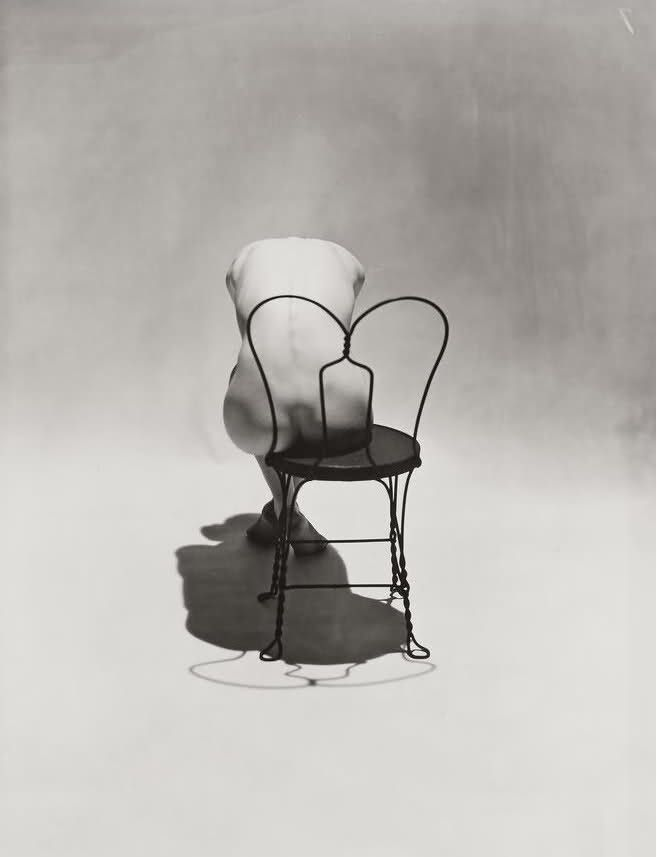 Nude on Coca Cola Chair, 1944 Photographer: Erwin Blumenfeld