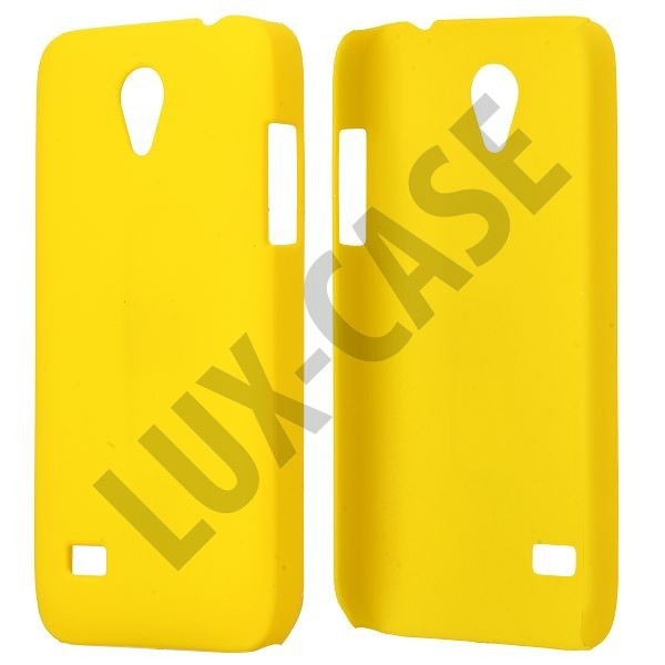 Hard Shell (Gul) Huawei Ascend G330D Cover