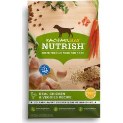 Rachael Ray, Nutrish Dog Food - Natural, Chicken and Veggies Recipe size: 14 Lb, Rachael Ray Nutrish