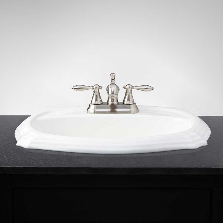 Regent Drop In Sink Drop In Bathroom Sinks Sink