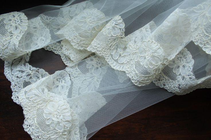 Anna Maria Locke: DIY lace trimmed veil
