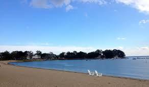 Darien beach.