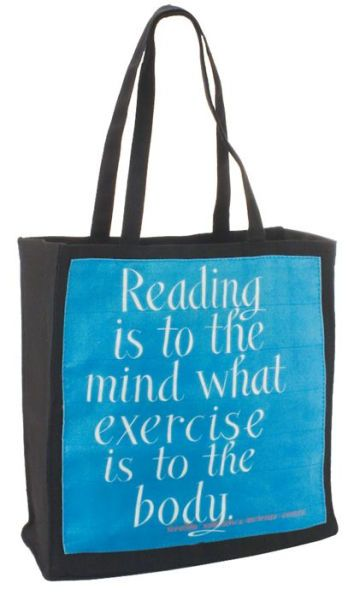 Jeff Fisher Beecher Addison Steele Quote Tote Bag (14x14x5)