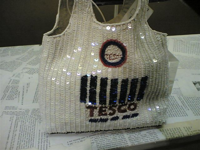 Designer Tesco bag