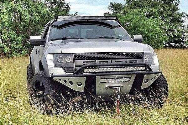 Add F012932450103 2010 2014 Ford F150 Raptor Stealth Front Bumper
