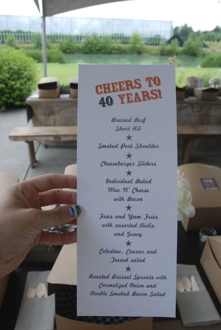 Menu for #beertasting party www.sugarplumsisters.com