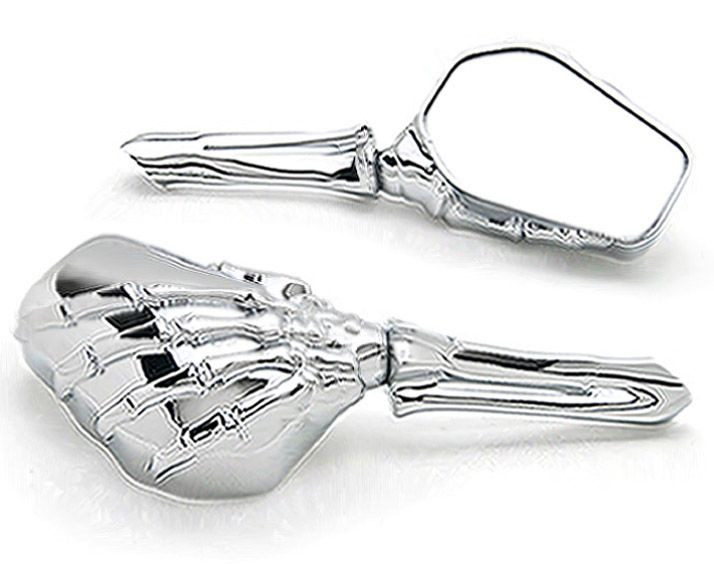 62.00$  Buy here - http://aliwee.shopchina.info/go.php?t=32538525015 -  Chrome Custom  Skeleton Mirrors For Kawasaki VN Vulcan Classic Nomad Drifter 1500 62.00$ #bestbuy
