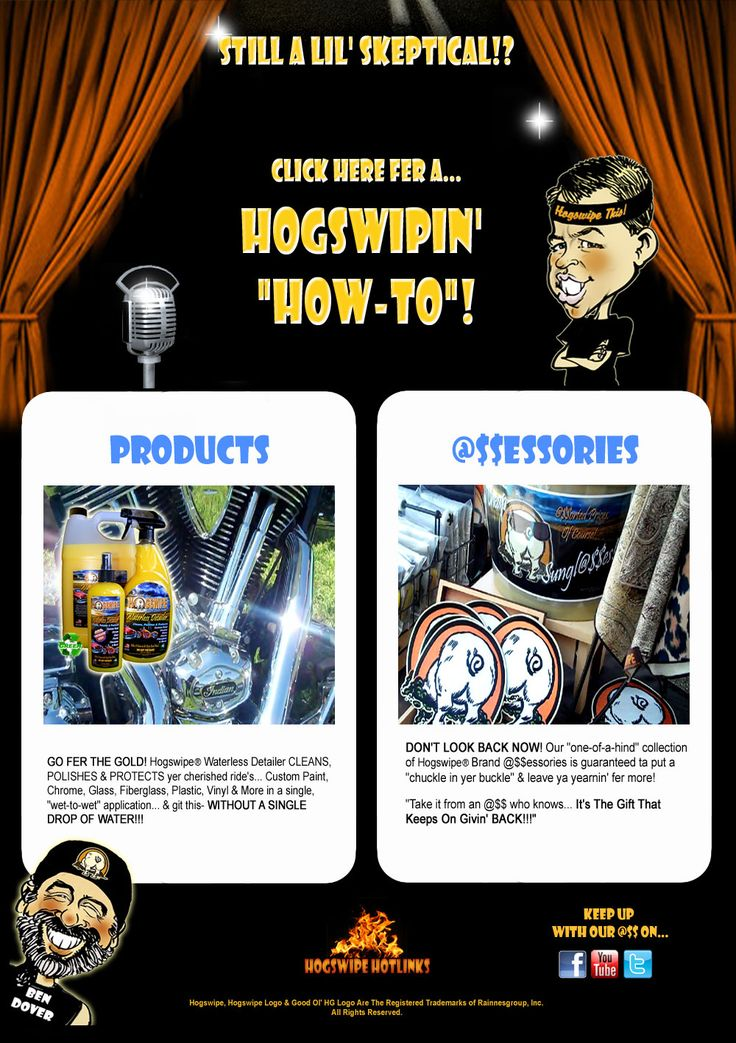 Hogswipe Car and Motorcycle Cleaner Detailer Store