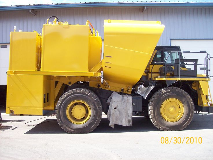 Ground Force Manufacturing,LLC in Post Falls,Idaho is the world's biggest builder of water trucks for mine sites all around the world.