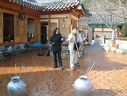Korean lunar new year games and traditions and customs