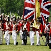 The Attack on Gananoque! This reenactment commemorates the first U.S. attack on the St. Lawrence. For other Ontario events happening: http://www.summerfunguide.ca/04/festivals-events-shows.html #summer #fun #ontario #1812 #bicentennial