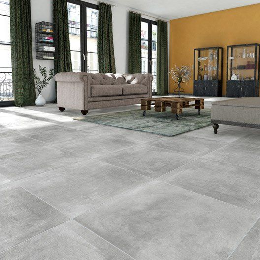Les 25 meilleures id es de la cat gorie carrelage salon for Carrelage 80x80 gris