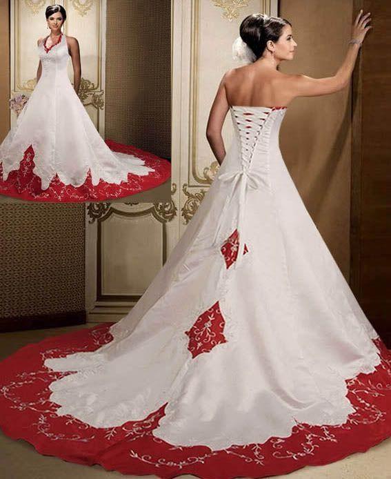 Victorian Red & White