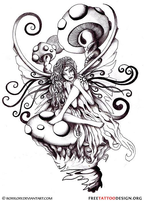 fairy tattoos | Fairy Tattoos | Cute, Evil, Small Fairy Tattoo Designs And Ideas