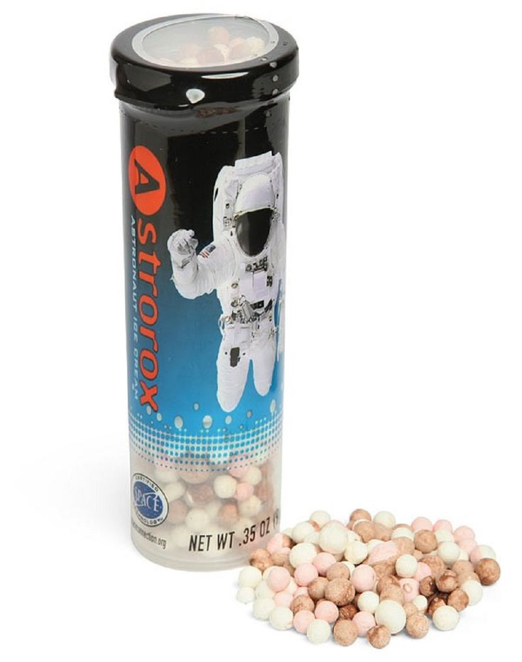 Astrorox Astronaut Ice Cream - Ready to Eat Freeze Dried Neapolitan Ice Cream Drops