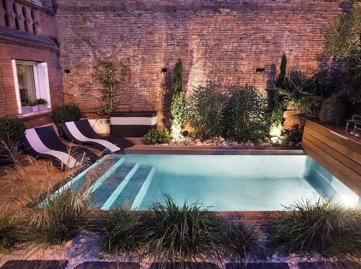 7 best Piscine images on Pinterest Swimming pools, Small pools and
