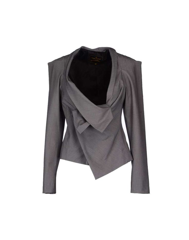 VIVIENNE WESTWOOD ANGLOMANIA Blazer | womens blazer | womenswear | womens fashion | womens style | wantering http://www.wantering.com/womens-clothing-item/vivienne-westwood-anglomania-blazer/aeWc0/