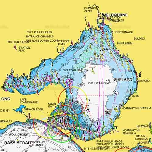 Guide To Snapper Fishing in Port Phillip bay . This Map is Clickable with each GPS Mark has Information on When ,Where & How We Caught Fish in Each Location . This Map Would Be useful to New Anglers