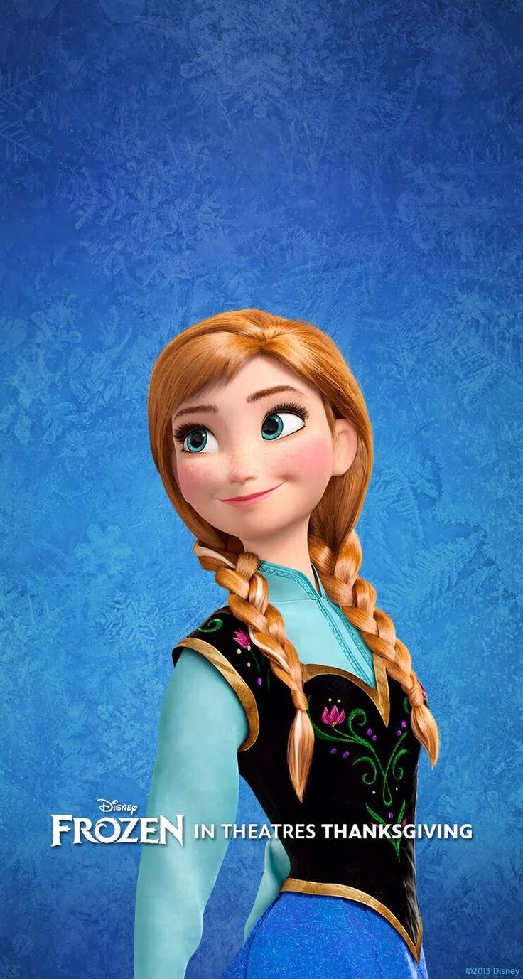 Princess Ana- Frozen: I finally have a Disney princess I can really relate to!