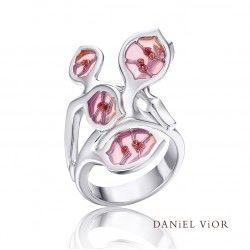 Zilveren ring #lunaria #danielvior #barcelona #silver #enamel #zilver #emaille #wendyslookbook