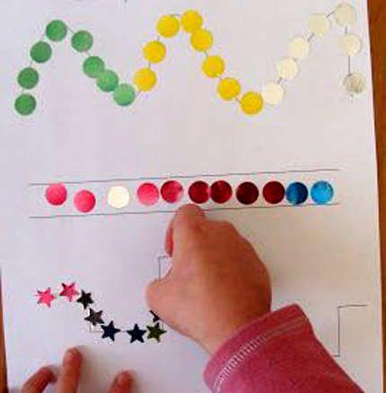 Series para trabajar la iniciación a la grafomotricidad » Actividades infantil