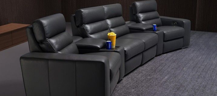 Warren G9354 Theatre Leather Lounge. Sit back, relax, and enjoy your favourite movie on our top of the line home theatre lounge. The Warren home theatre lounge offers you the best in comfort, styling, and smooth reclining mechanism available on the market today. Bring on the popcorn!