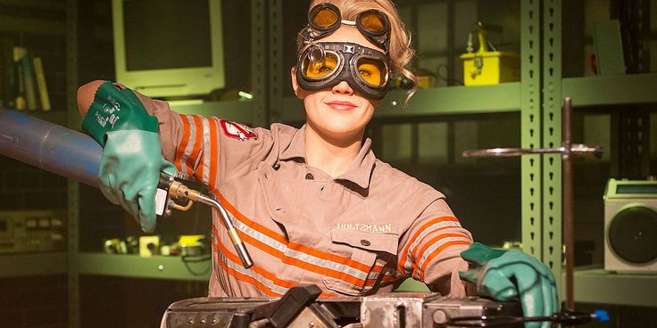 Jillian Holtzmann is queer as all get-out and no, there's no subtle subtext to it.