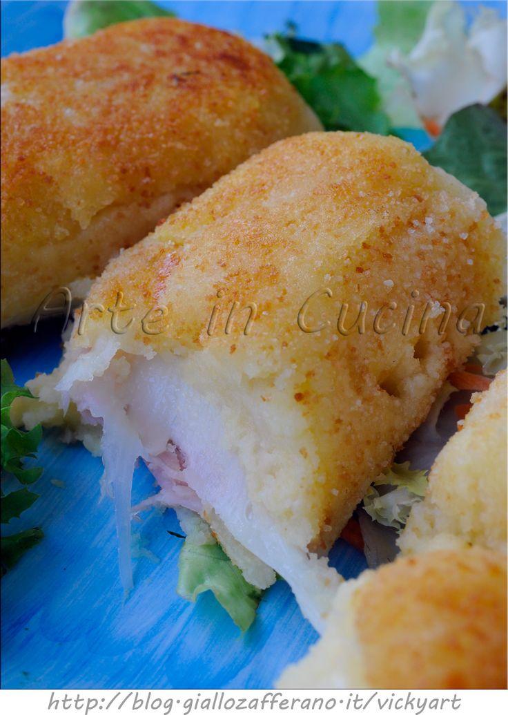 Fagottini di patate morbidissimi ripieni ricetta facile vickyart arte in cucina